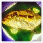 heerlijke verse vis voor diner