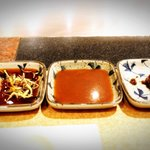 3 types of sauces