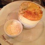 Soufflé al formaggio francese