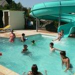Toboggan aquatique camping de Rhuys Golfe du Morbihan