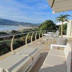 terrace and breakfast area
