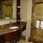 Really nice bathroom in executive room
