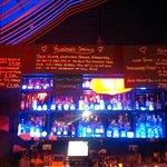 The Bar at Ninja Bar - stunning spirits selection!