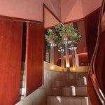 Лестница отеля