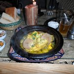 Chicken tagine meal