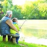Free fishing with your holiday at Meadow Lakes