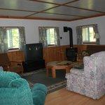 Blue Heron cottage family/TV room