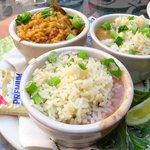 Trio of classic NOLA dishes