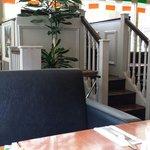 Private breakfast nook