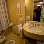 Bathroom at room 114