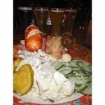 Food and beer flight