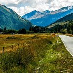 Drive from Queenstown to The Routeburn Shelter