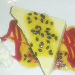 Passion Fruit & Lime Cheesecake...Must be sampled x