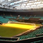 Centre Court with roof closed.