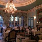 Laduree Soho back dining room