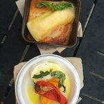 Three cheese manicotti & Caprese from Primavera Outdoor Kitchen