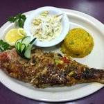 Whole Red Snapper Caribbean Style!
