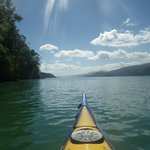 Kayaking out on the sounds