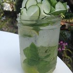 Cucumber Mojito - isn't it beautiful!