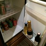 Refrigerator in suite
