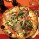 Pizza opera e pupi! Un régal!