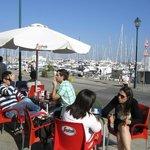 'Traffic free' marina area