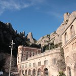 Montserrat Mountain from the abbey