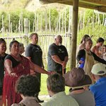 Meeting the Maori family