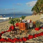 organisation de diners en amoureux sur la plage