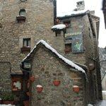 Restaurante El Duende en invierno