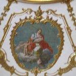 Throne room artwork