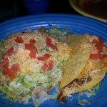Taco and tostada