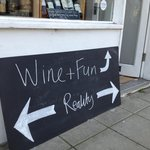Wine and fun, or reality. You deicde