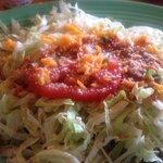 Beef Taco Salad (No Shell)