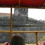Otra vista de las murallas desde el bus