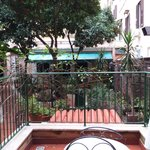 Blick auf Balkon/Terrasse