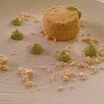 Semifreddo al croccante con sprazzi di pistacchio