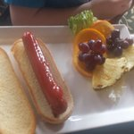Kids meal hot dog