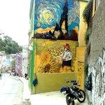 Nuestro mural De Van Gogh hecho por Teo