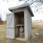 The outhouse!