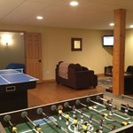 Rec rooms in the basement have all sorts of fun items