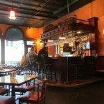 Hotel bar and restaurant
