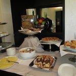 Salle petit dejeuner