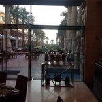 View from the Garden Restaurant