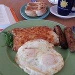 Yummy Sausage and Eggs