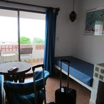 2 double beds, private bath and balcony, 3rd floor