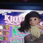 Pocahontas on her favorite slot machine