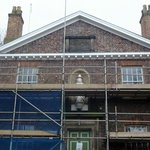 Lovely 18th Century main building undergoing much needed conservation (should be finished end Ap