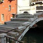 Brücke im jüdischem Viertel