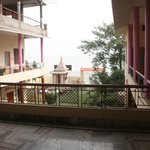 All rooms are facing the garden and the Ganga.